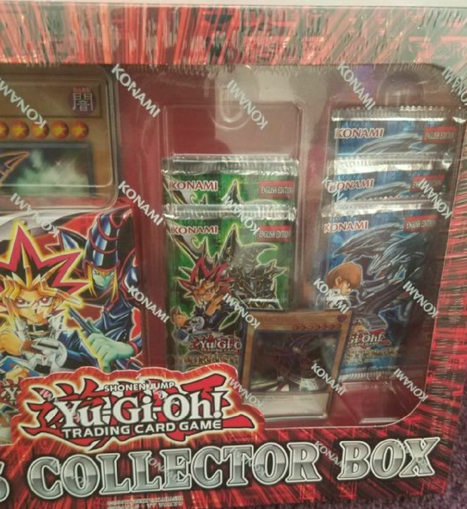 Yu-gi-oh Collector Box New And Yugi&Kaiba