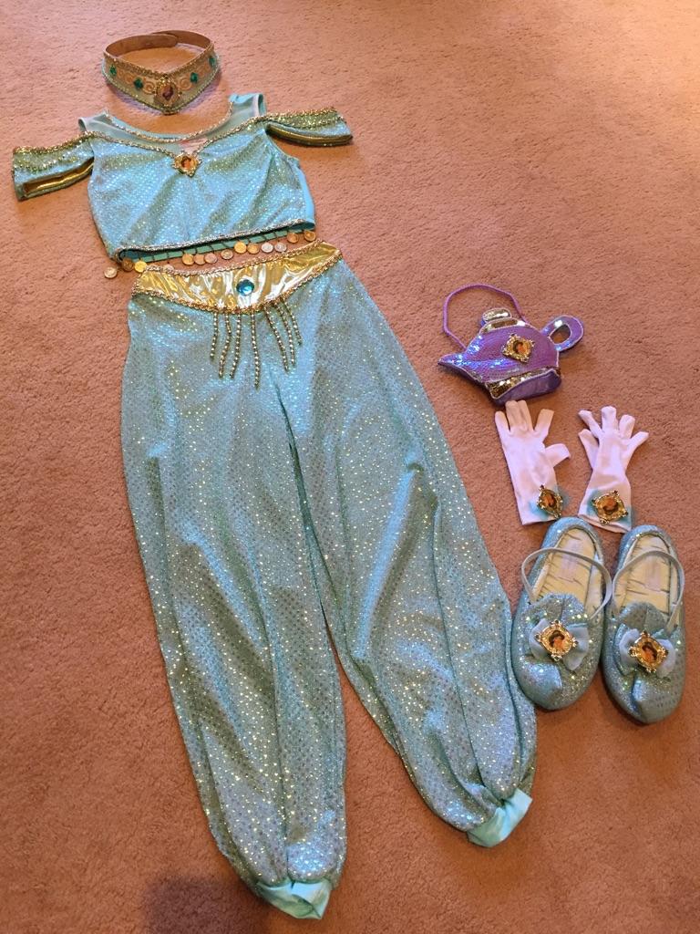 6 Piece Jasmine Costume