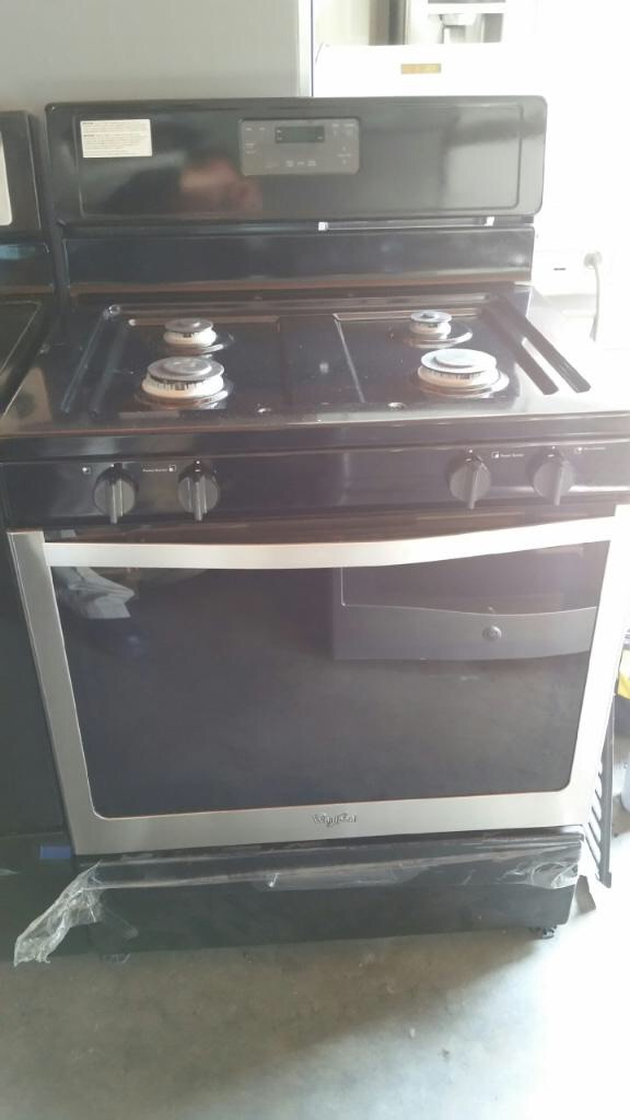 """New stove gas oven 30"""""""