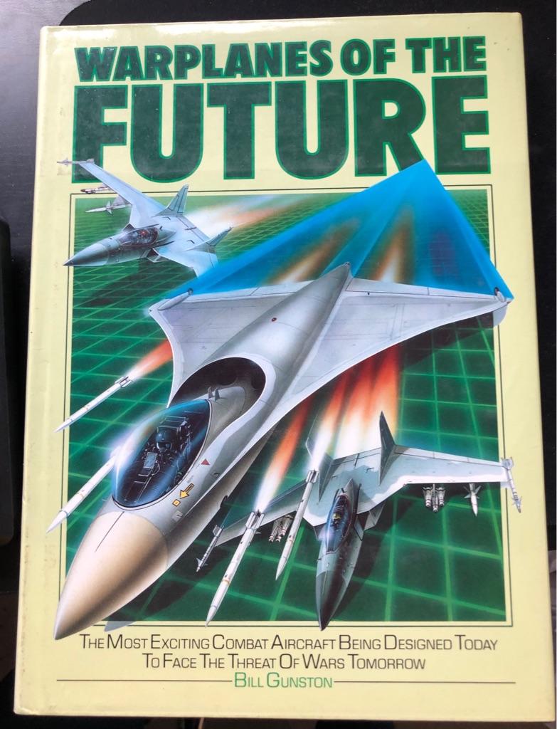 WARPLANES OF THE FUTURE BOOK