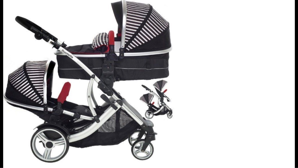 BRAND NEW - Double pram for sale (Duellette BS Combi)