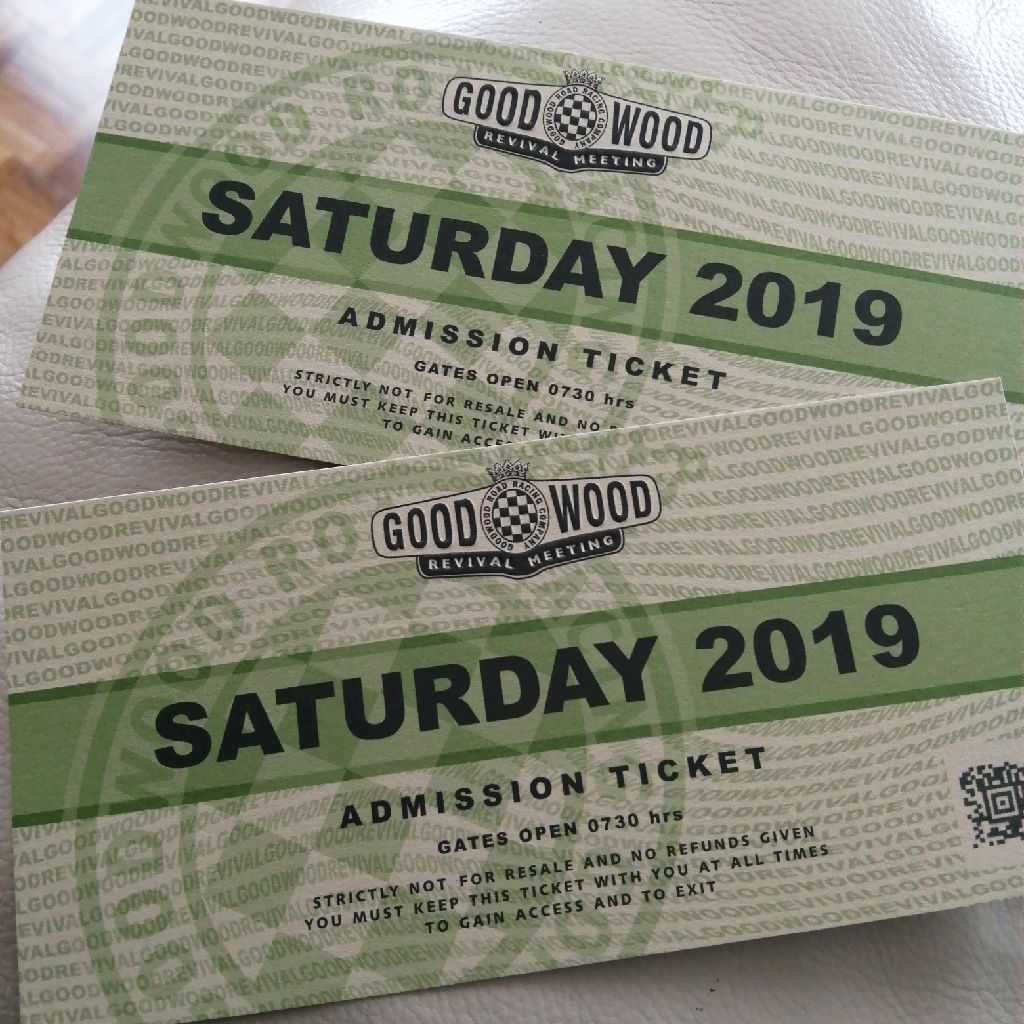 Goodwood Revival Adult Admission Saturday Tickets