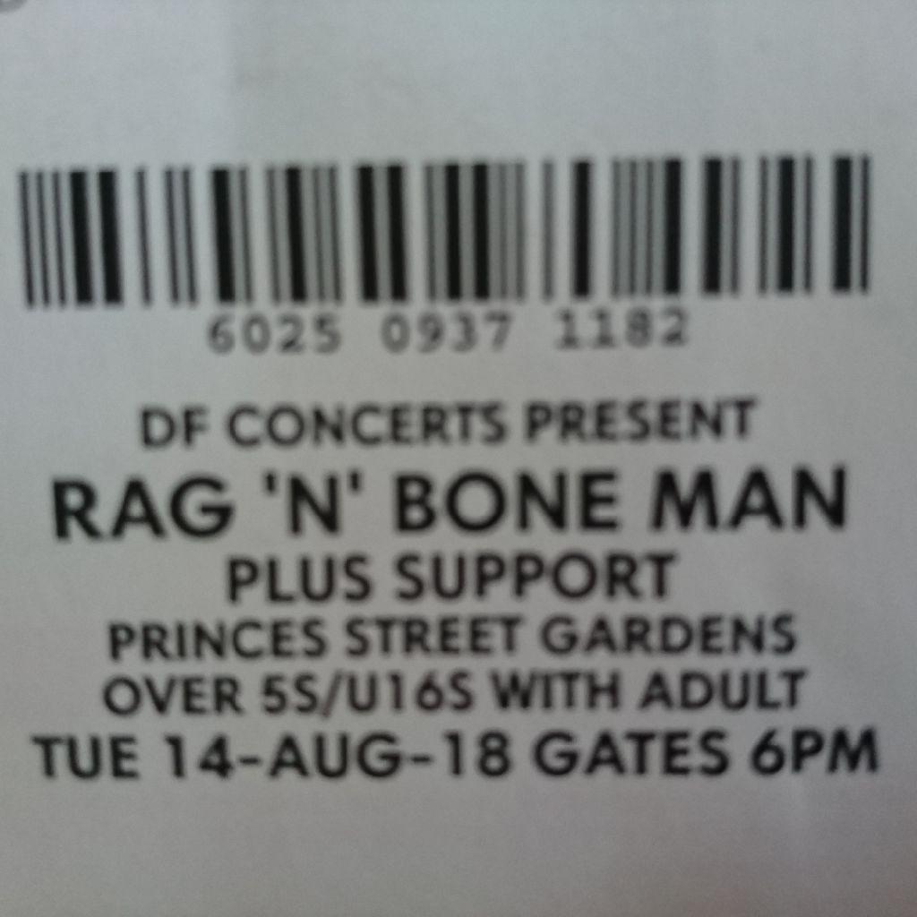 Rag and Bone Man ticket