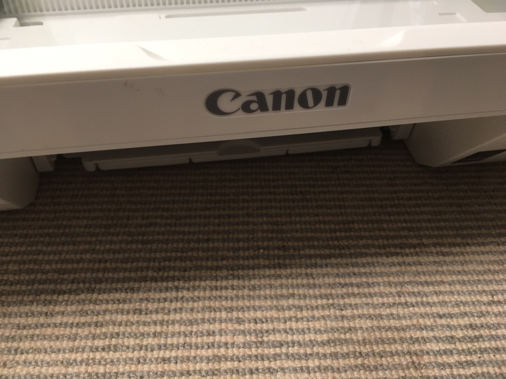 Canon scanner/printer