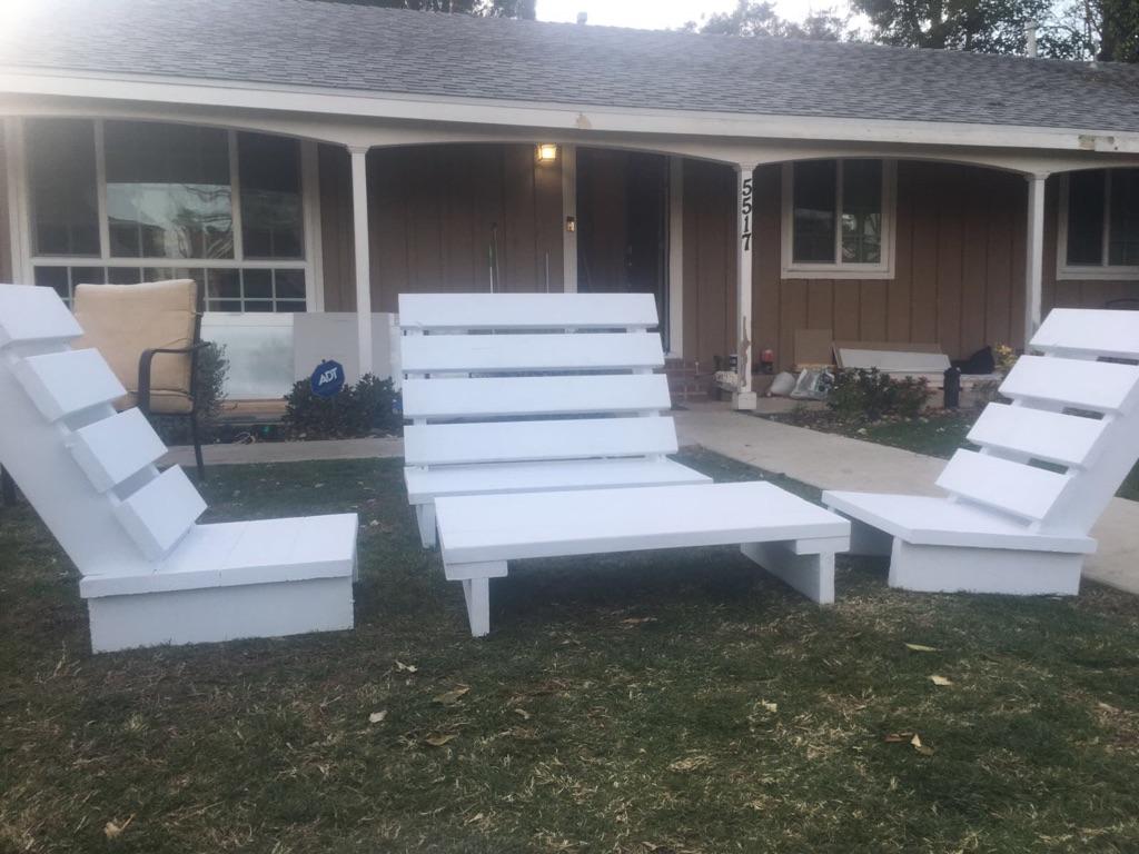 Patio Furniture Set Indoor Outdoor