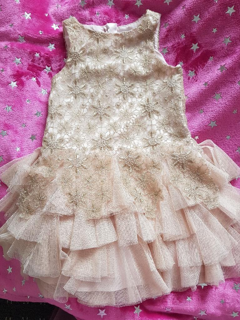 Gold dress party /wedding dress