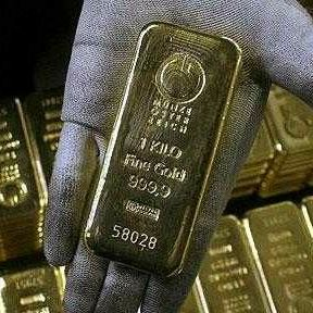 Gold and silver bars real