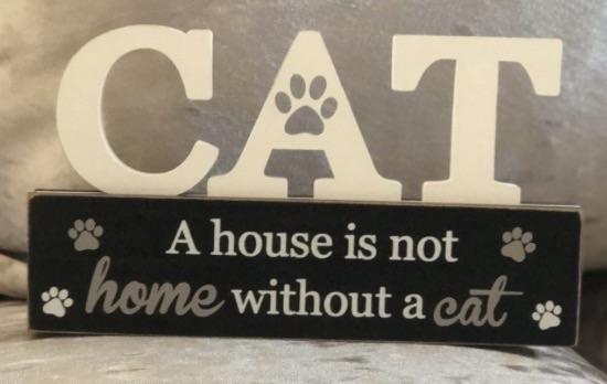 Purrfect pals cat plaque