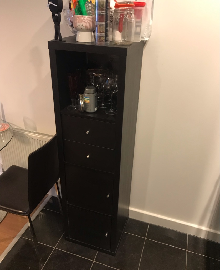 IKEA KALLAX with Inserts