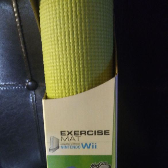 Nintendo yoga mat