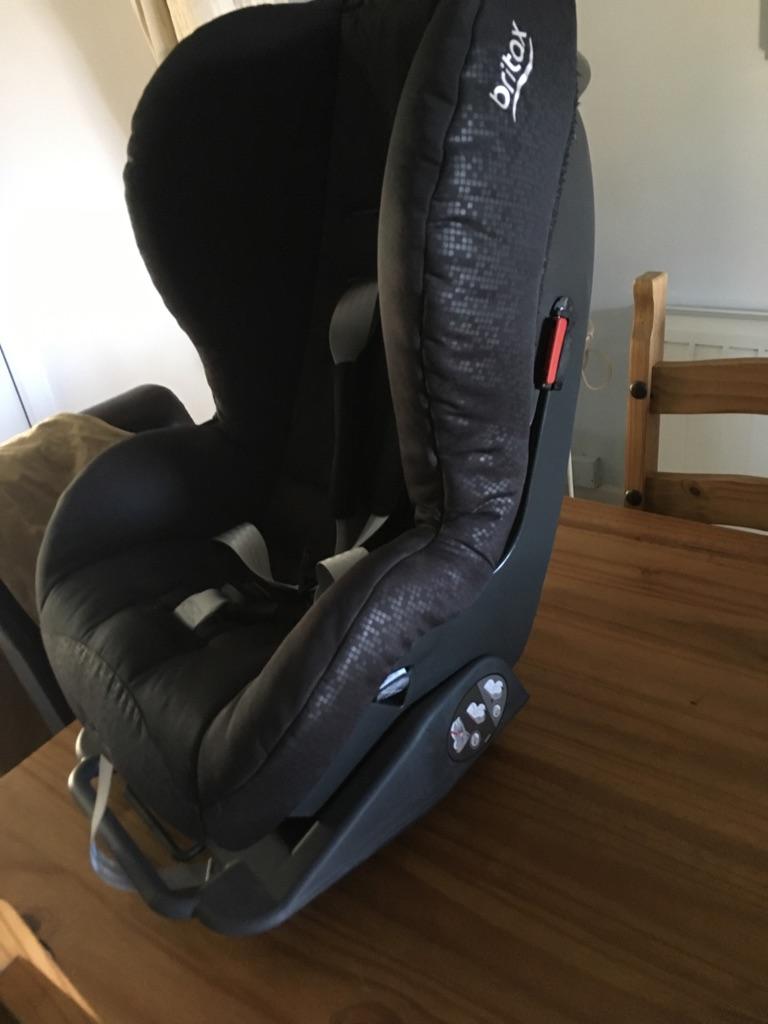 Brittax Prince Car seat Thunder Black