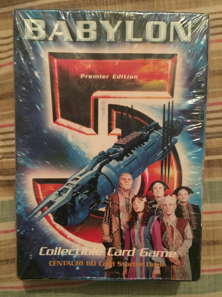Babylon 5 Collectible premier series cards unopened