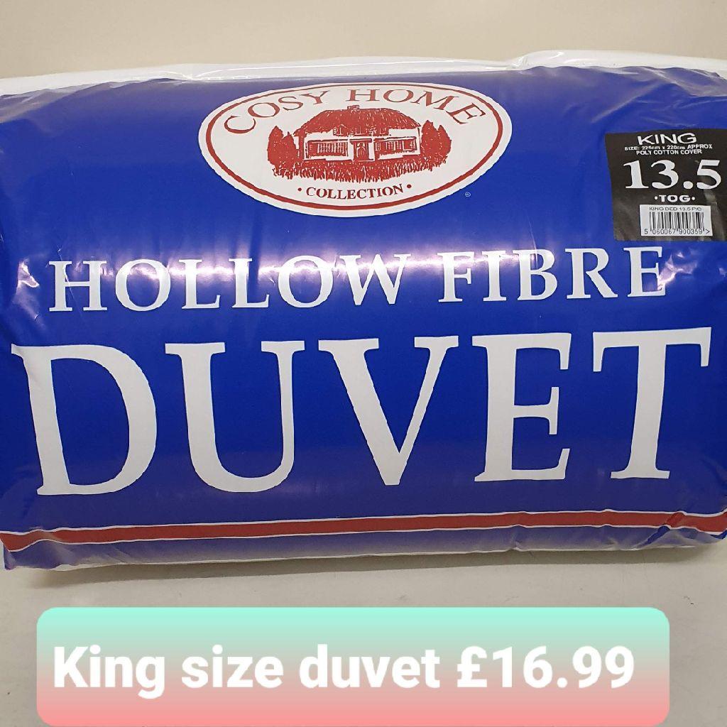 King size duvet
