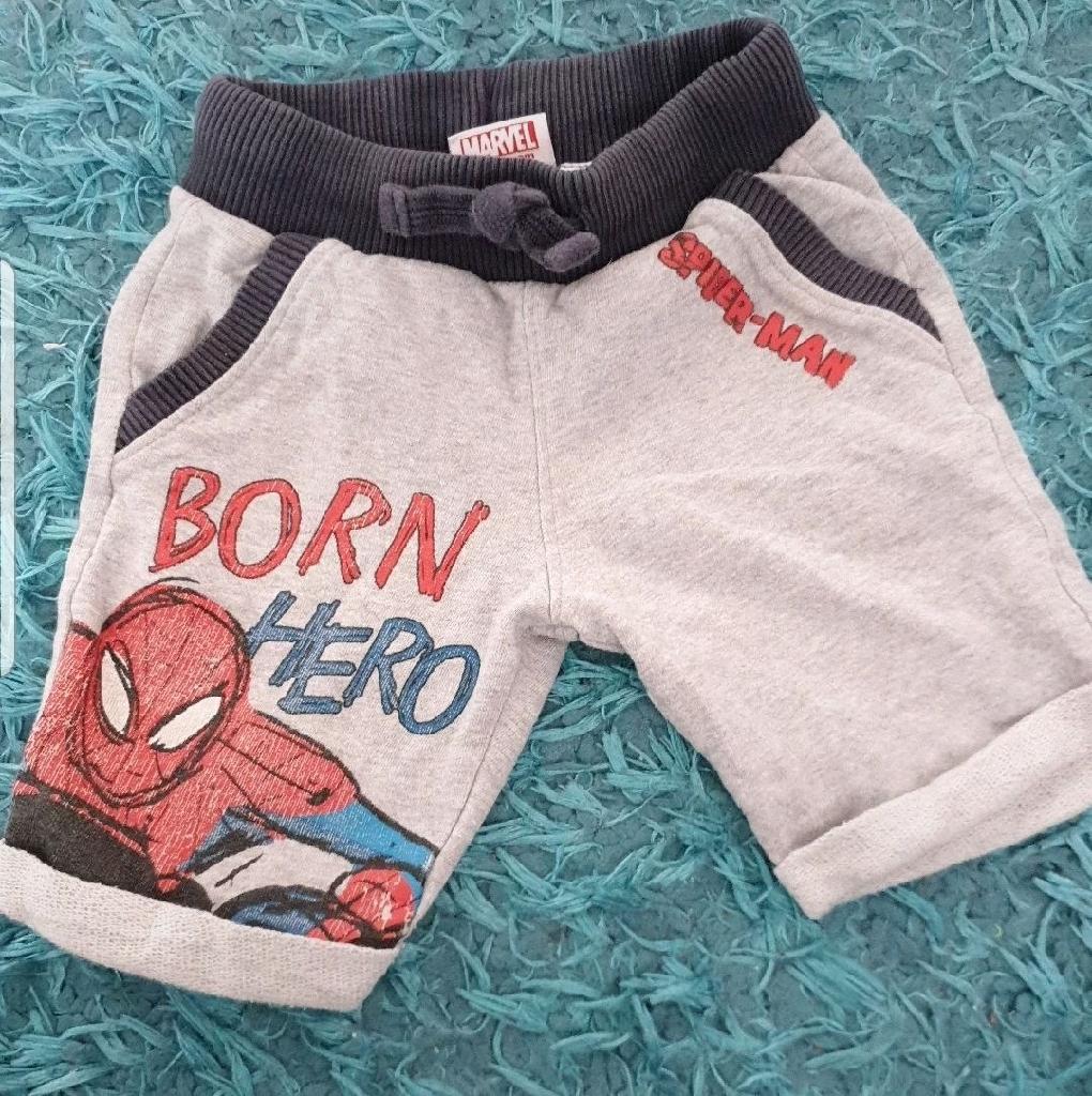 Marvel Spiderman Shorts 2-3 years