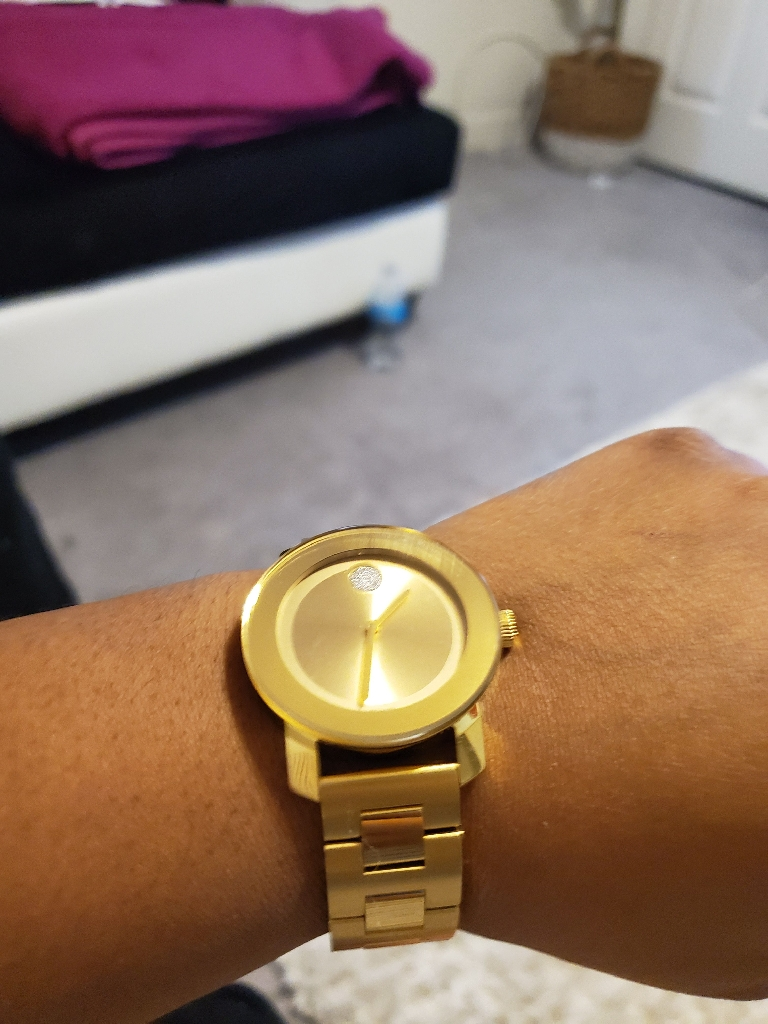 Woman's Movado Gold Watch