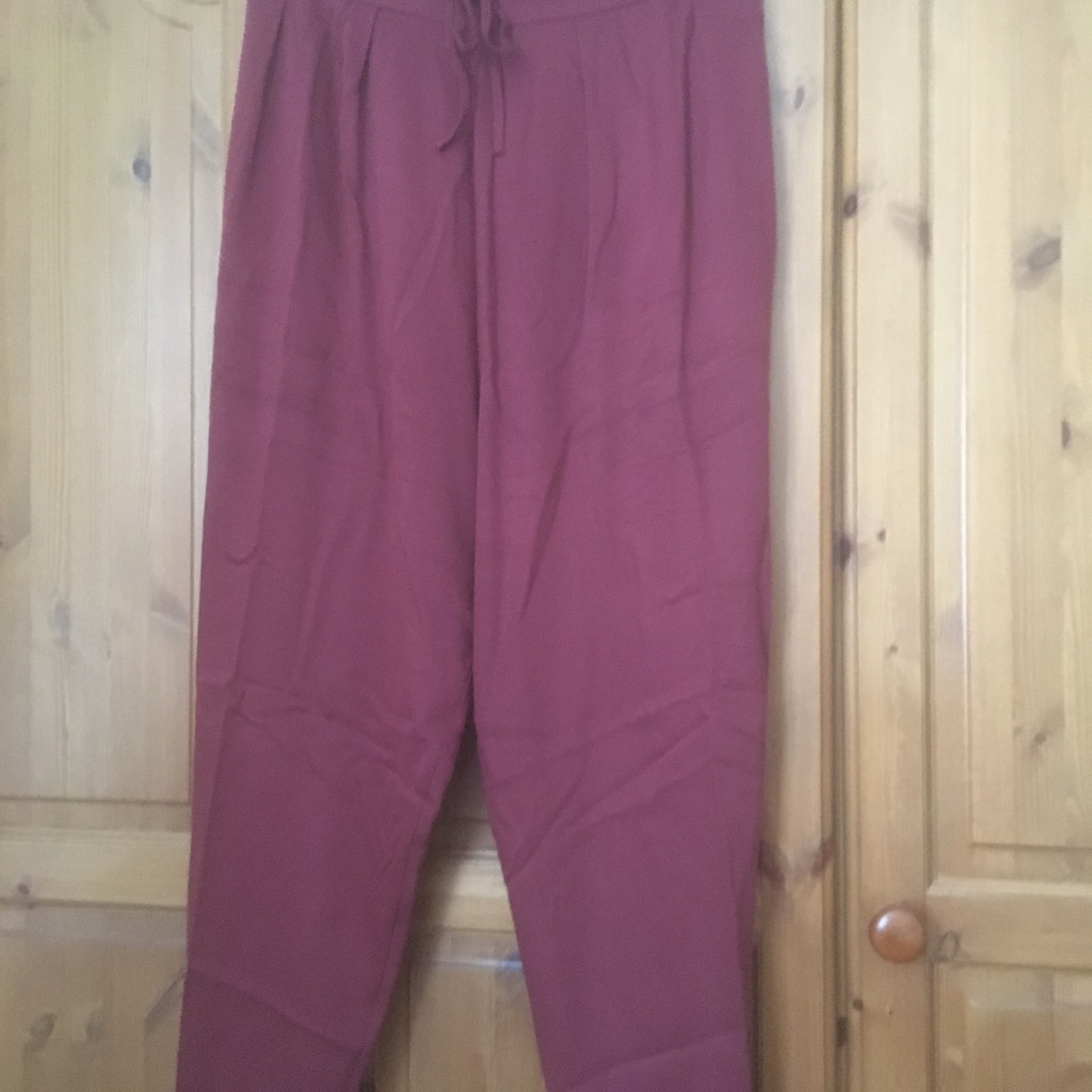 Ladies plus size trousers