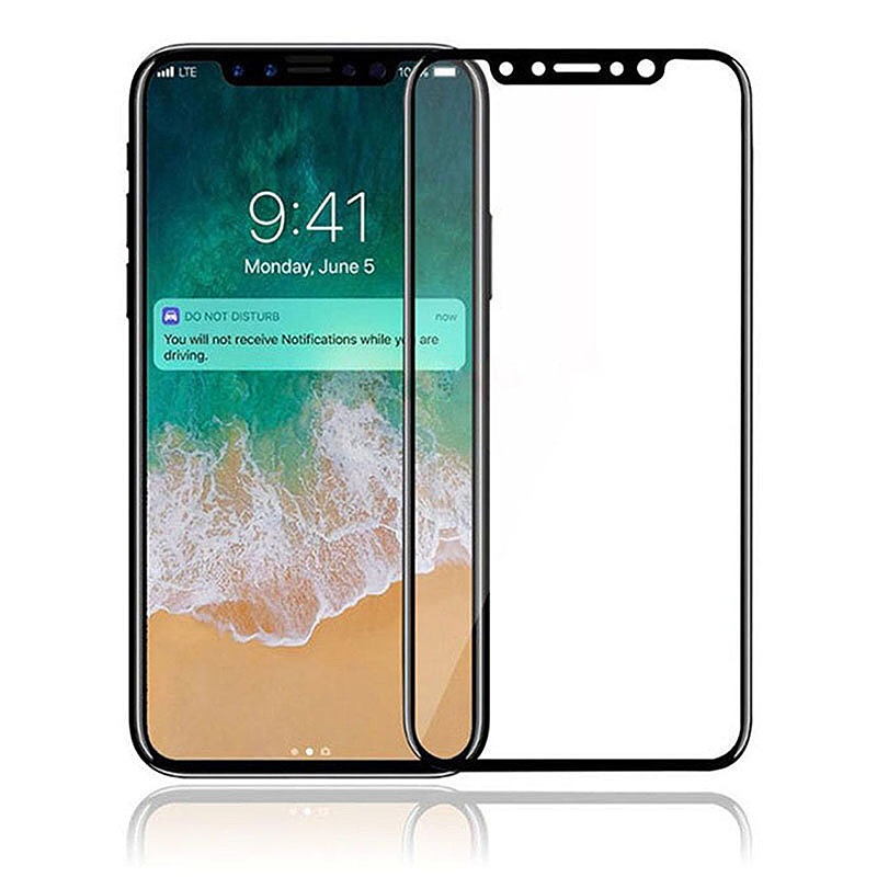 Glass protecter iPhone X and Xs