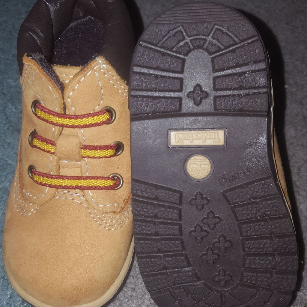 Timberland crib shoes