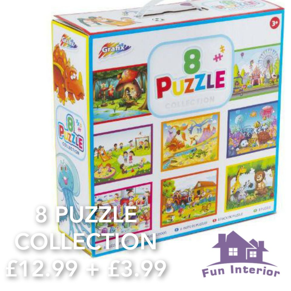 8 PUZZLE COLLECTION