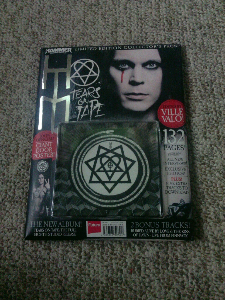 Metal Hammer Presents: HIM-Tears on Tape, A Limited Edition Collectors Pack