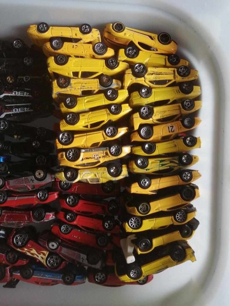 Ferrari die-cast cars