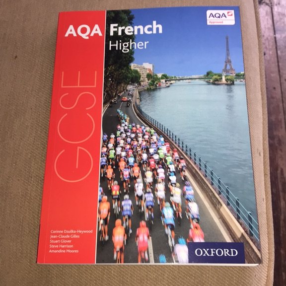 Aqa  GCSEFrench higher text book