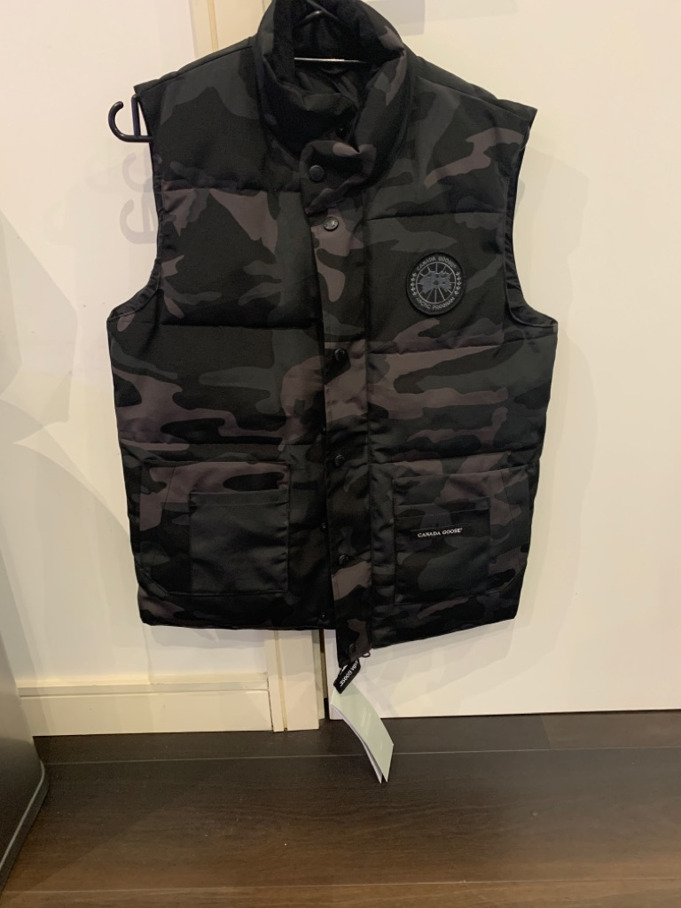 Canada goose Gilet Xsmall camouflage