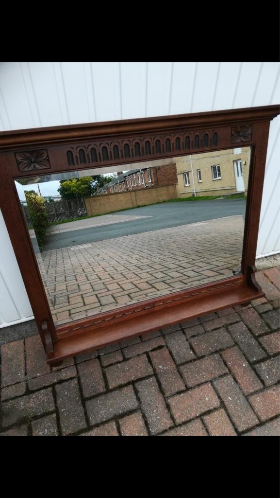 Old charm mirror