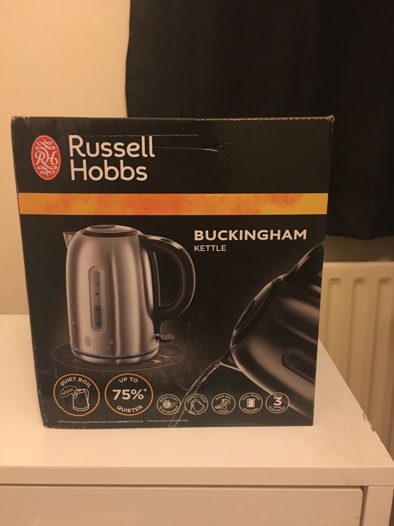 RUSSELL HOBBS BUCKINGHAM KETTLE 1.7L