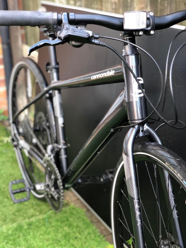Cannondale quick 5 hybrid bike mens wonens (not carrera, specialized, trek, Boardman, Whyte,