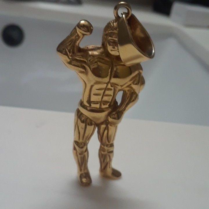 Cuban chain piece