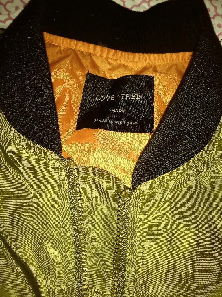 Women's Green Bomber Jacket