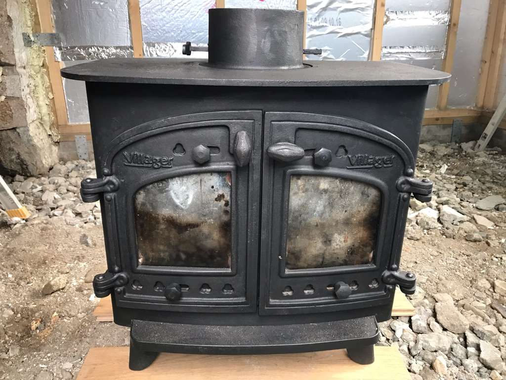 Villager Wood Burning Stove/Log Burner
