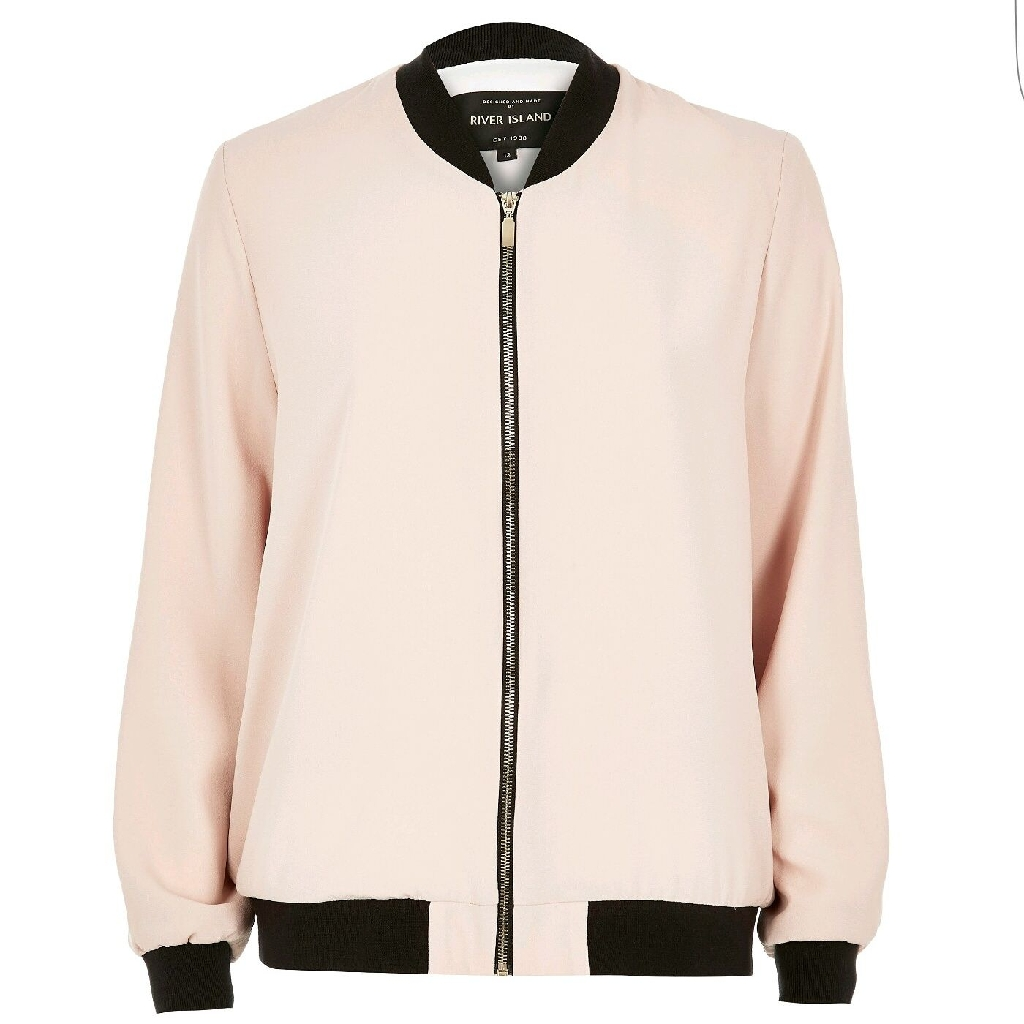BNWT RIVER ISLAND collection Spring/Summer bomber jacket