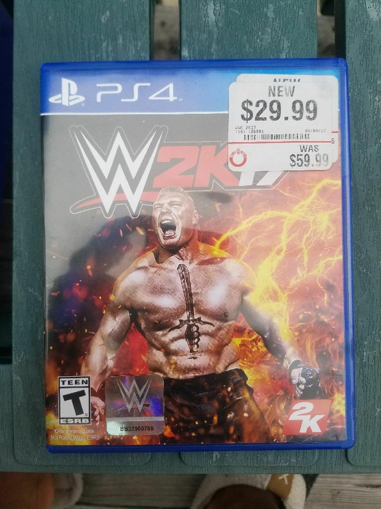 PS4 WWE 2K17