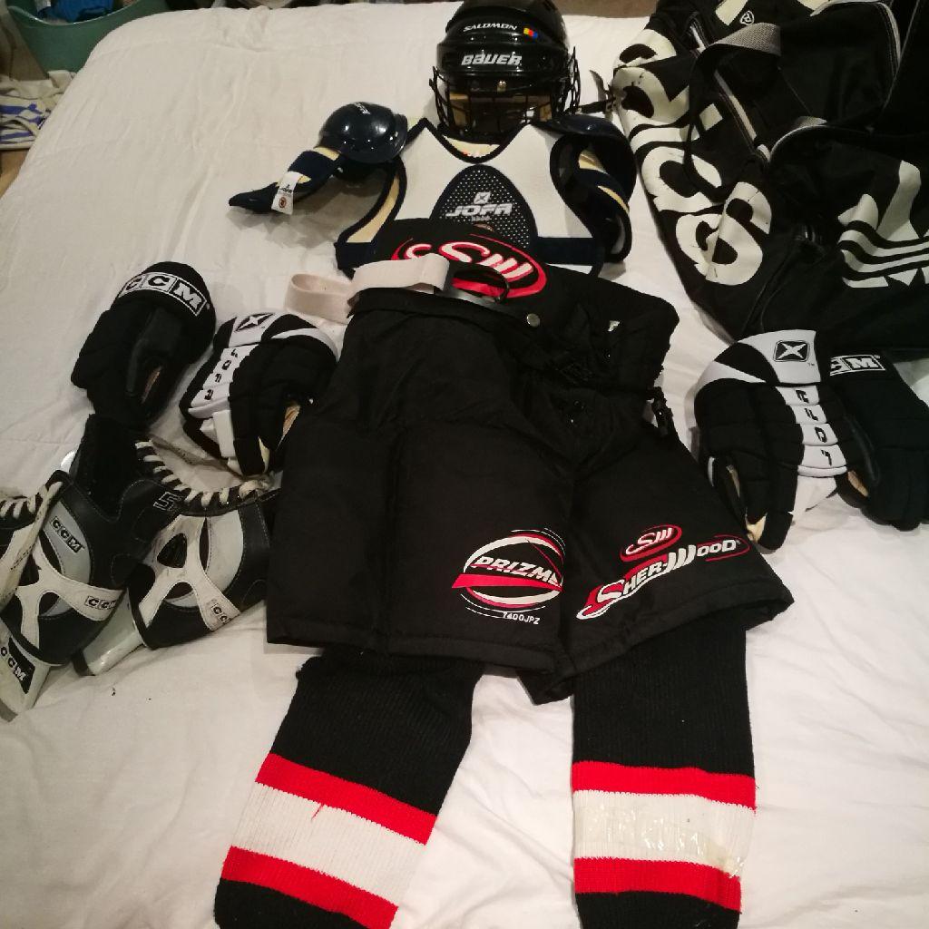 Junior ice hockey kit