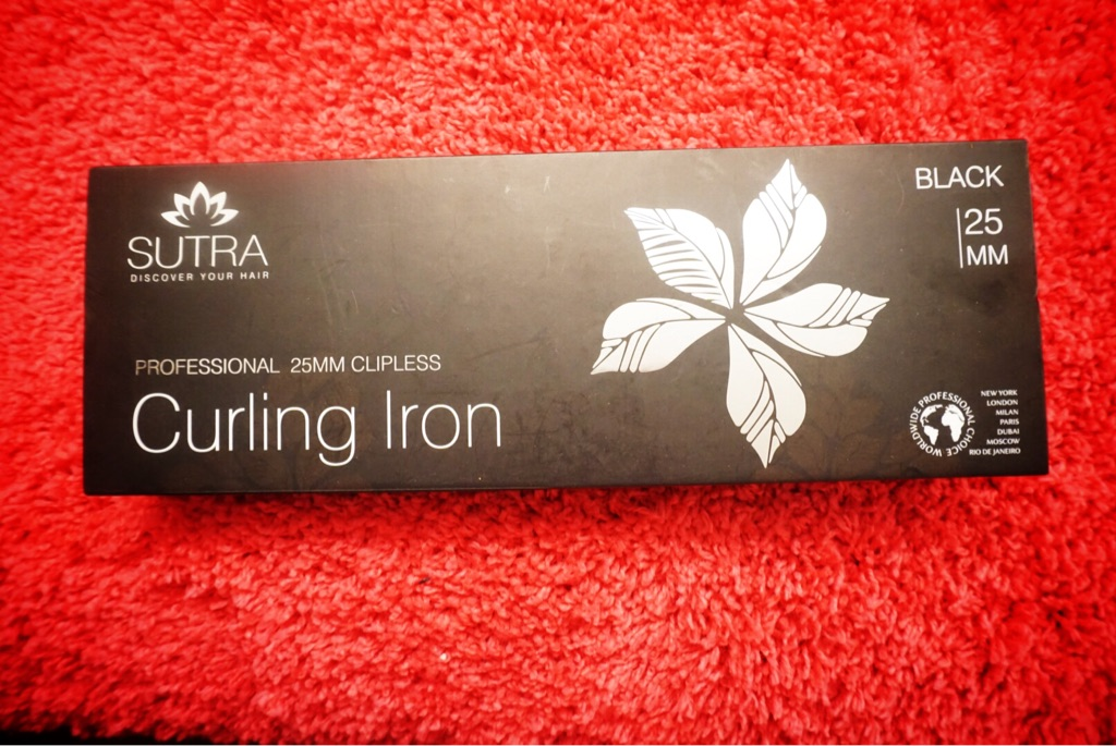 SUTRA PROFESSIONAL CURLING IRON