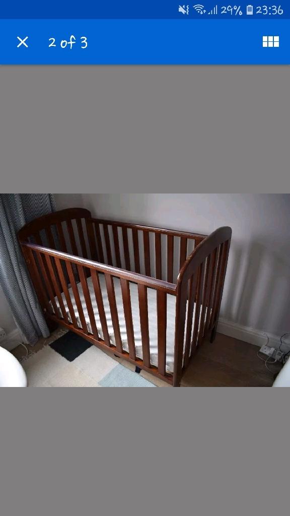 East coast cot single bed, no mattress