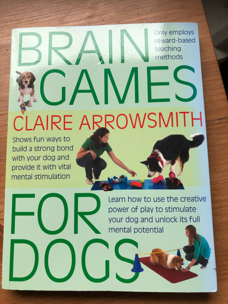 Book - dog training / games