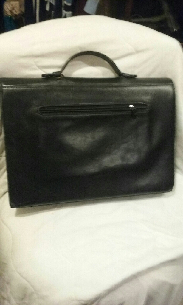 Vintage chanel brief case