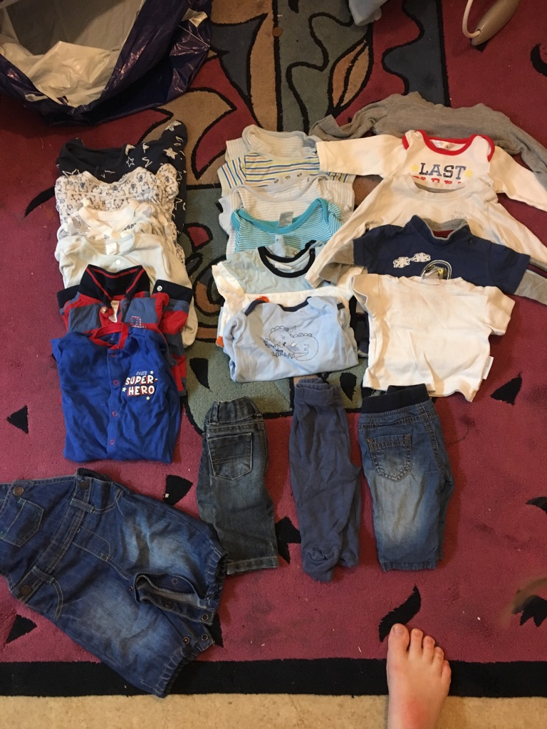 Baby boy bundle 0-3 month