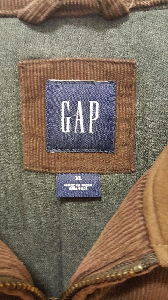 Corduroy Gap Jacket