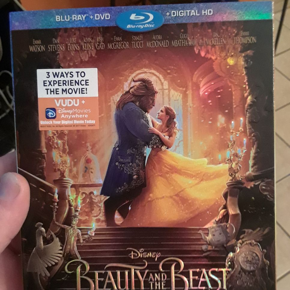 Beauty and the Beast Bluray DVD