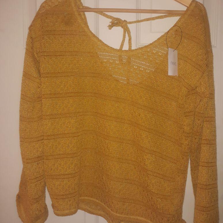 Womens mustard jumper