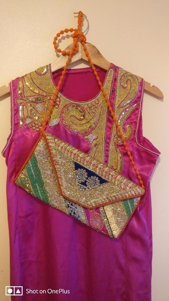 Dress and bag 10 uk size