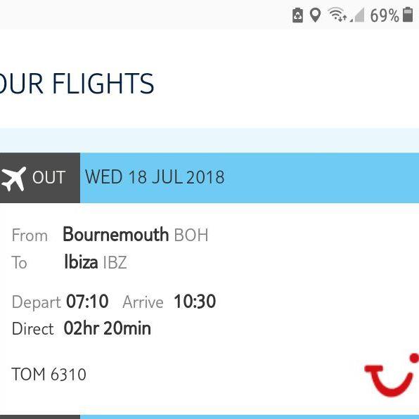 Return flights to Ibiza from Bournemouth