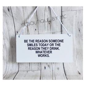 Be the reason... plaque