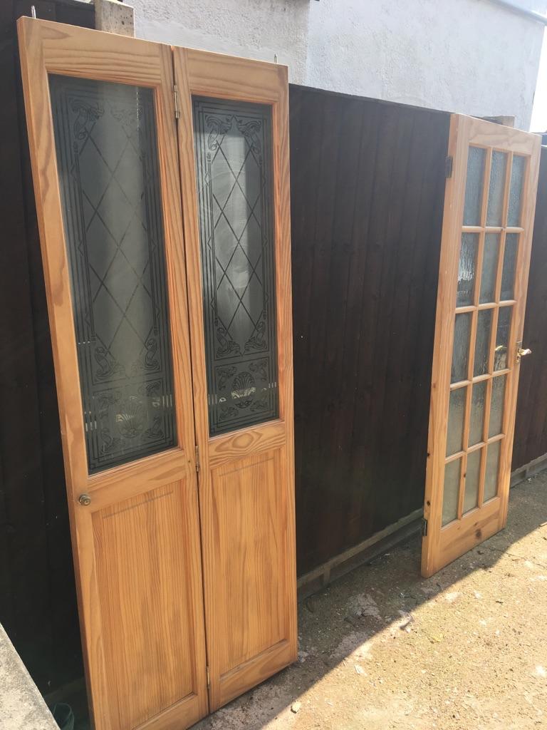 Internal wooden door & folding door
