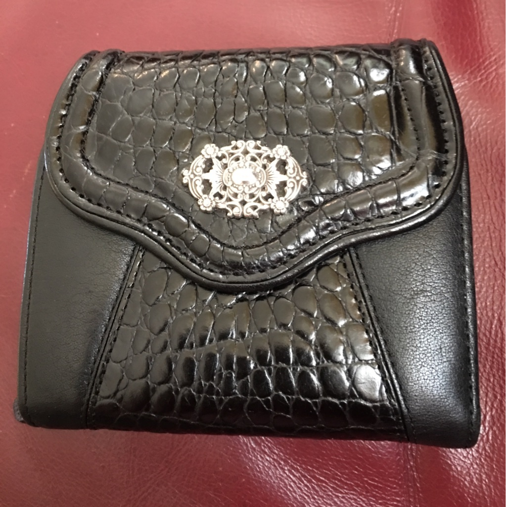 Woman's Black Brighton wallet