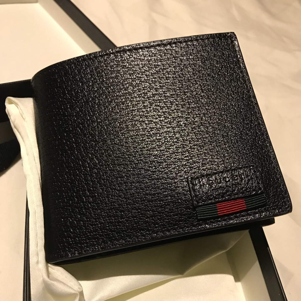Gucci men's wallet (全新)